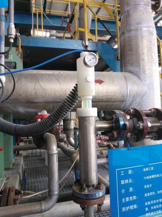 2014年中国石油玉门炼化催化裂化装置烟气除尘脱硫及全厂加热炉燃料气脱硫工程PH分析